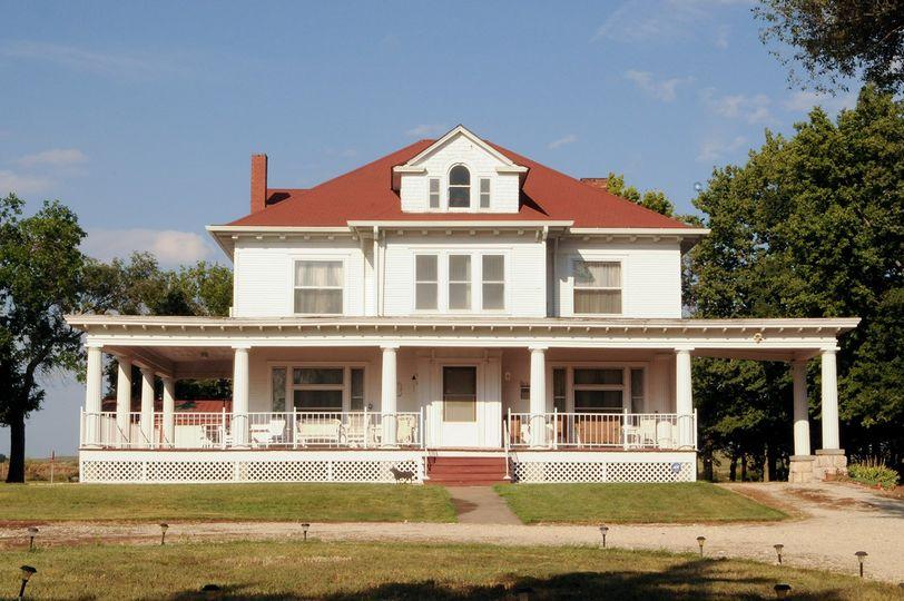 Wraparound Porch on Estate