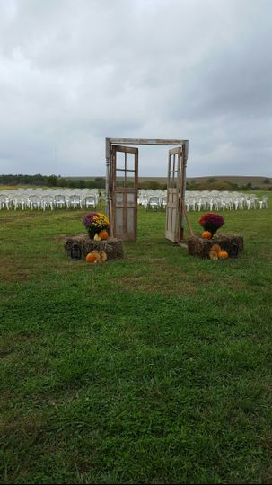 Door to Outdoor Ceremony