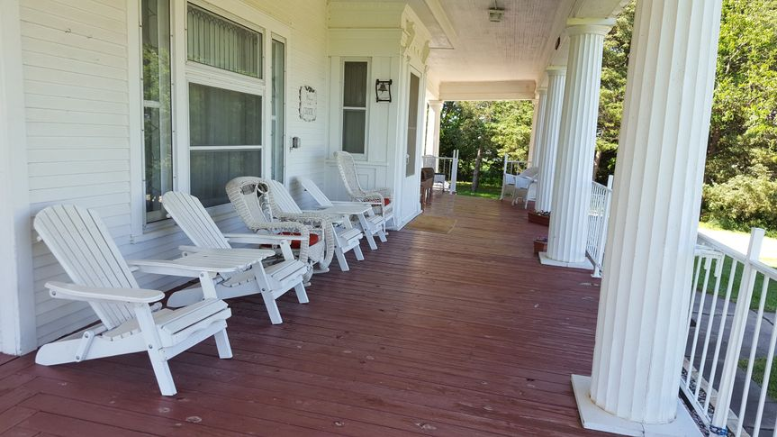 Front Porch on the Estate