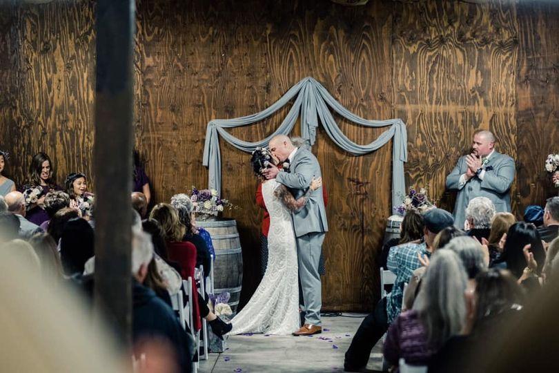 kat nick wedding kiss 51 932207
