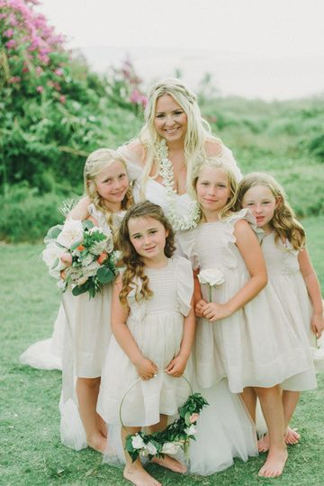 Precious flower girls!