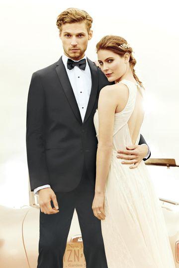 wedding tuxedo black michael kors berkeley 990 1