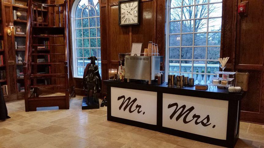 Mr. & Mrs. Customized Bar.