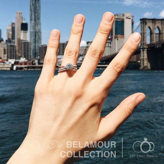 My Trio Rings - Jewelry - New York, NY - WeddingWire