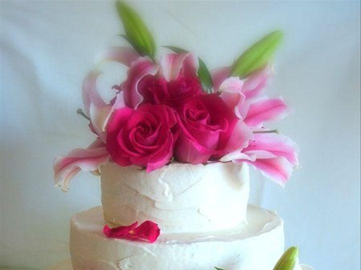 Tmx 1282988112967 BigstockphotoLiliesRosesCake2344210 Advance wedding cake