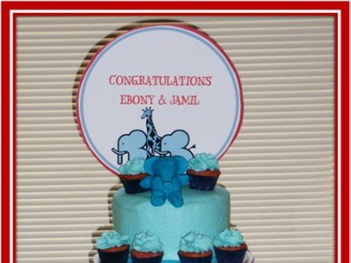 Tmx 1294120778066 Mcleanbabyshowercake Advance wedding cake