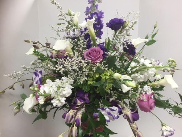 Sample flower arrangement