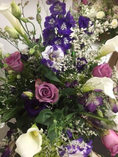 Flower bouquet sample