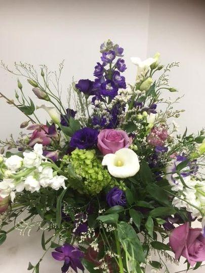 Sample flower bouquet