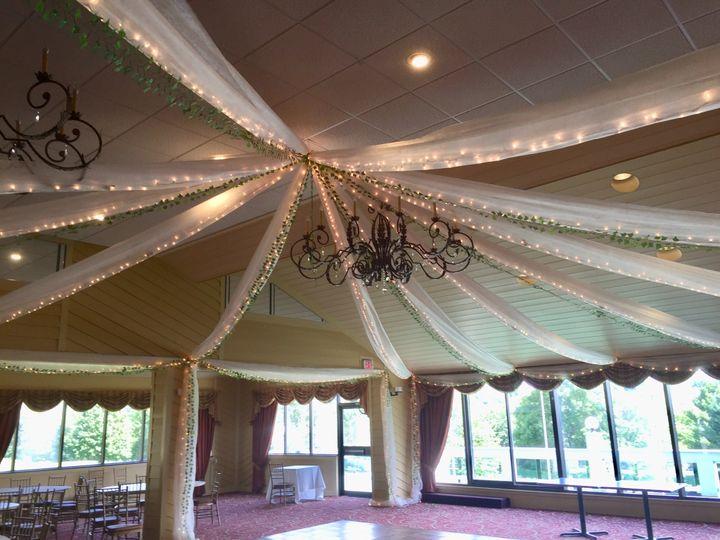 Romantic ceiling decor