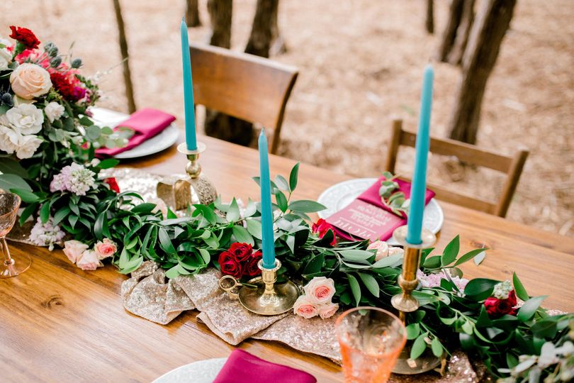 Table floral and centerpieces