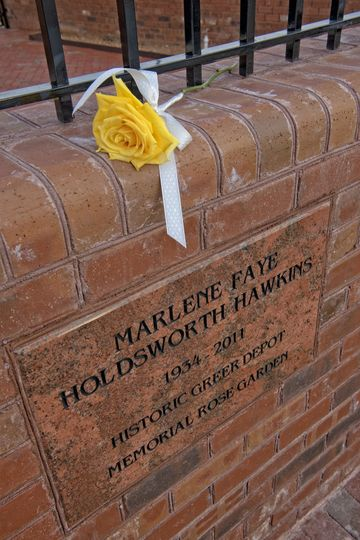Rose Garden marker