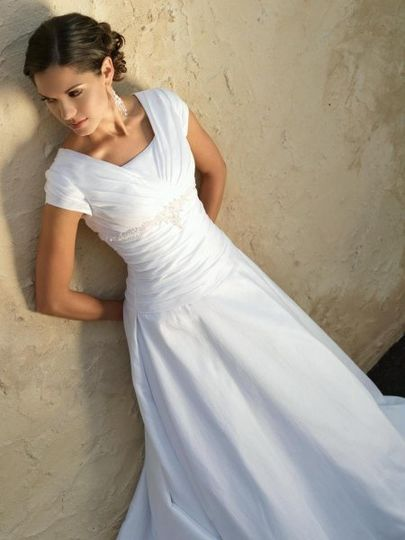 Beautiful & Modest Wedding Dresses