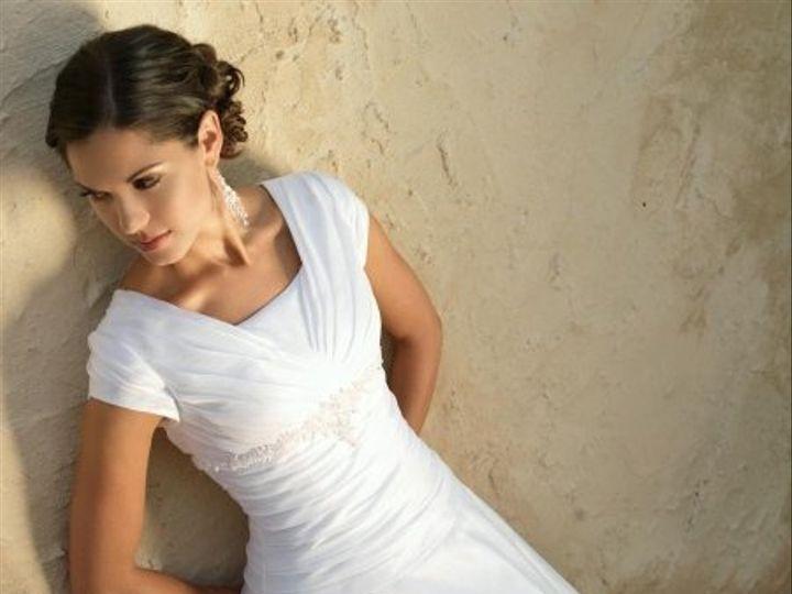 Tmx 1291137541657 BeautifullyModestWeddingDresses Oakdale wedding dress