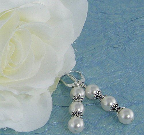 Tmx 1297610700293 3pearlbridalearrings3 Chicago wedding jewelry