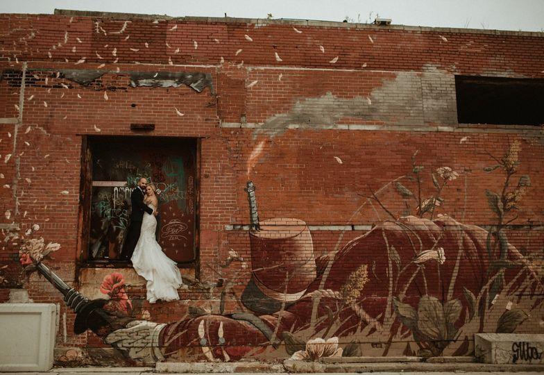 Eastern Market Urban wedding