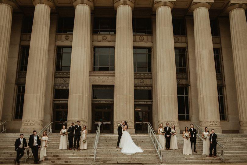 Bridal party Ann Arbor