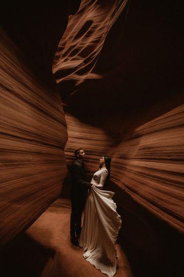 Antelope Canyon elopement