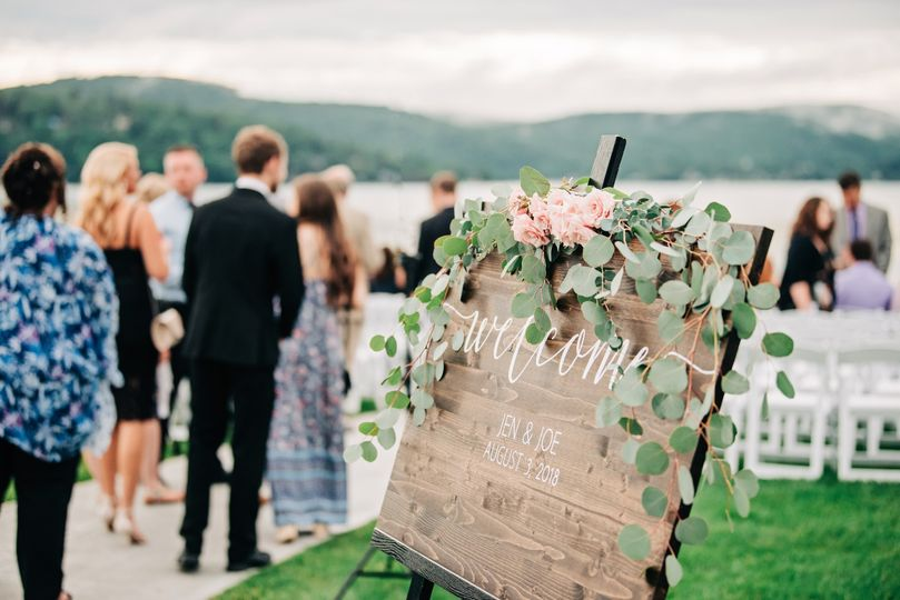 Candlewood Inn - ceremony set