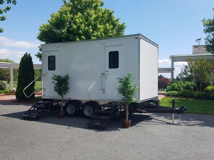 Trailer at outdoor event