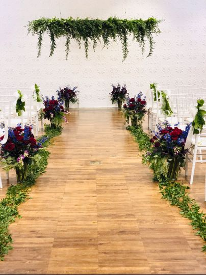 Aisle and Ceremony Decorations