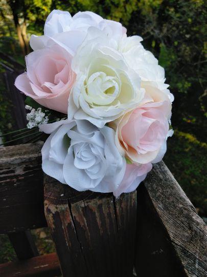 Handmade artificial bouquet