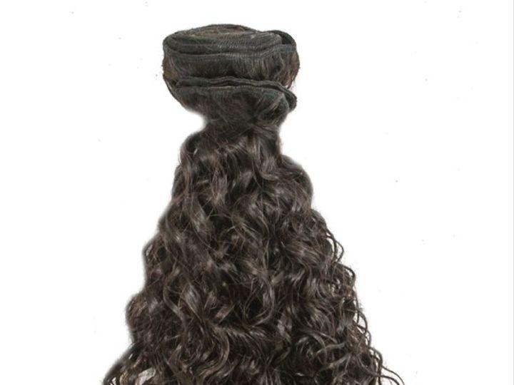 Tmx Brazilian Curly Weft 51 1031307 Charlotte, NC wedding beauty