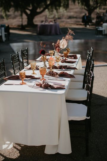 Guest tables