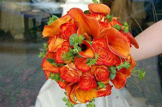 Tmx 1397664495171 Circus Roses Orange Calla Lilies Buplureu Pasadena, Maryland wedding florist