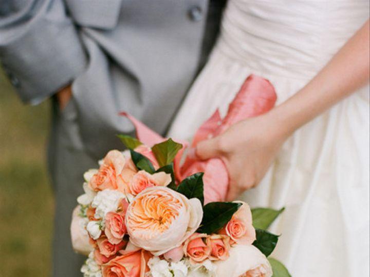 Tmx 1433267215334 Peach Roses Garden Roses Spray Roses White Freesia Pasadena, Maryland wedding florist