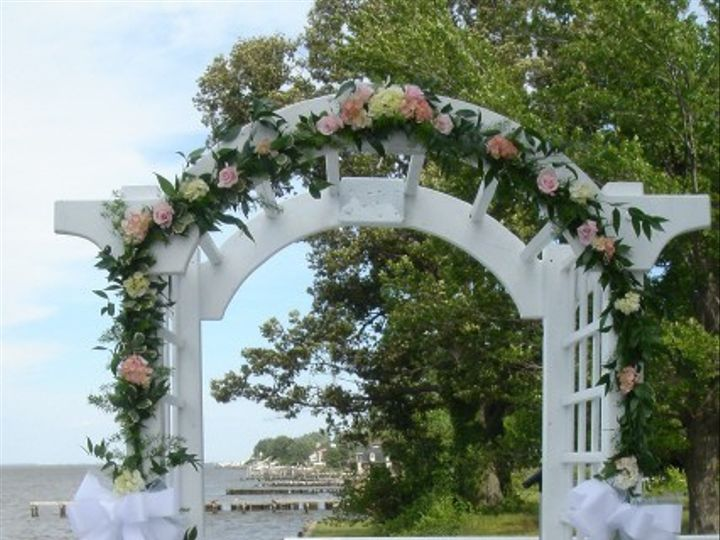 Tmx 1436199653636 Pink Roses And Green Hydrangea Pasadena, Maryland wedding florist