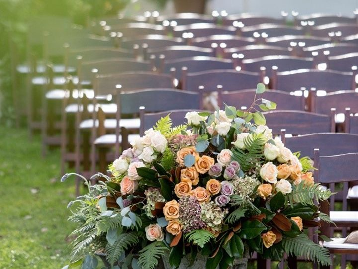 Tmx 1436199801718 Urn Of Roses And Hydrangea Pasadena, Maryland wedding florist