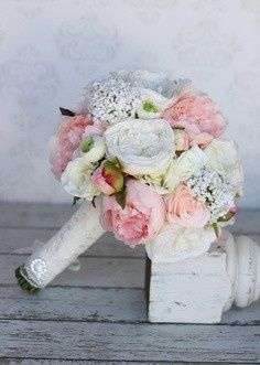 Tmx 1469639366382 Pink Roses White Roses Queen Annes Lace Pasadena, Maryland wedding florist