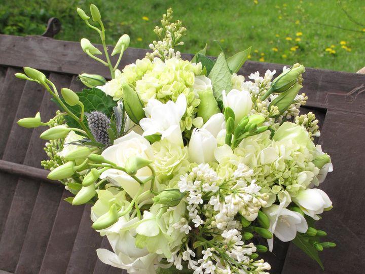 Tmx 1469639515012 White Lilac Wedding Bouquet1 Pasadena, Maryland wedding florist