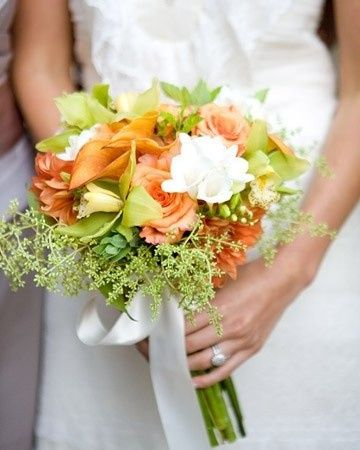 Tmx 1469639535925 Orange Roses Calla Lilies Dahlias White Chrysanthe Pasadena, Maryland wedding florist