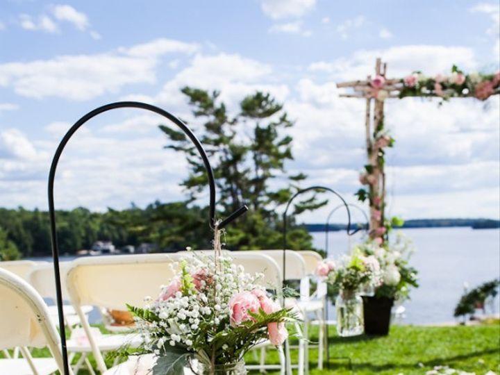 Tmx 1469640436027 Mason Jars With Pink Roses And Babys Breath Pasadena, Maryland wedding florist