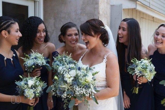 Tmx 1508855049282 Bluewhitebridebridesmaids Pasadena, Maryland wedding florist
