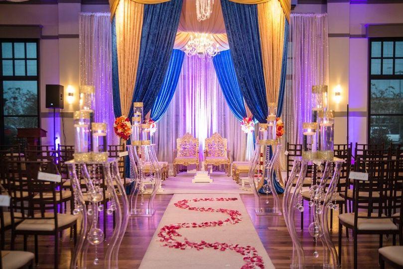 Petals and decor set