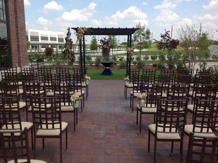 Tmx Patio Set For Ceremony 51 1972307 159222878475052 Katy, TX wedding venue