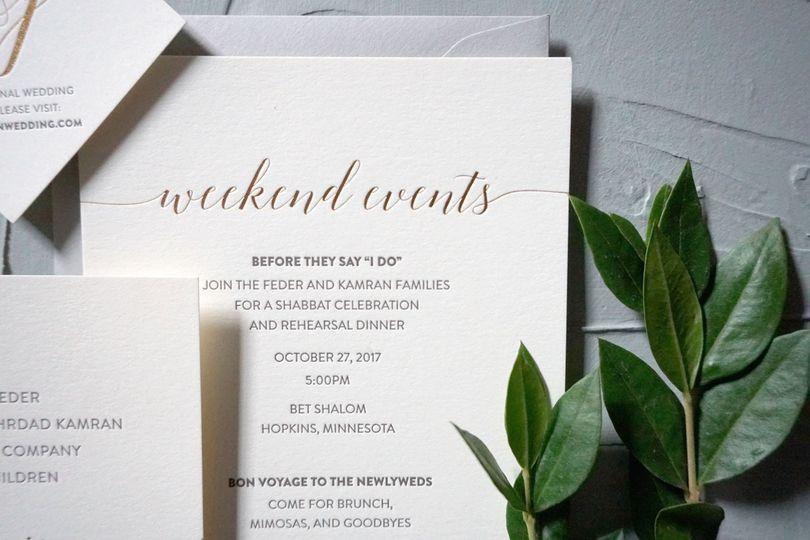 Custom Elegant Wedding Suite