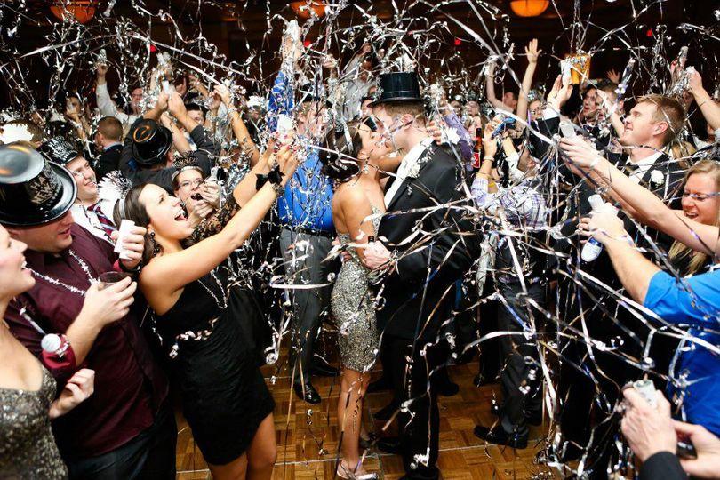 Celebrations on the dance floor