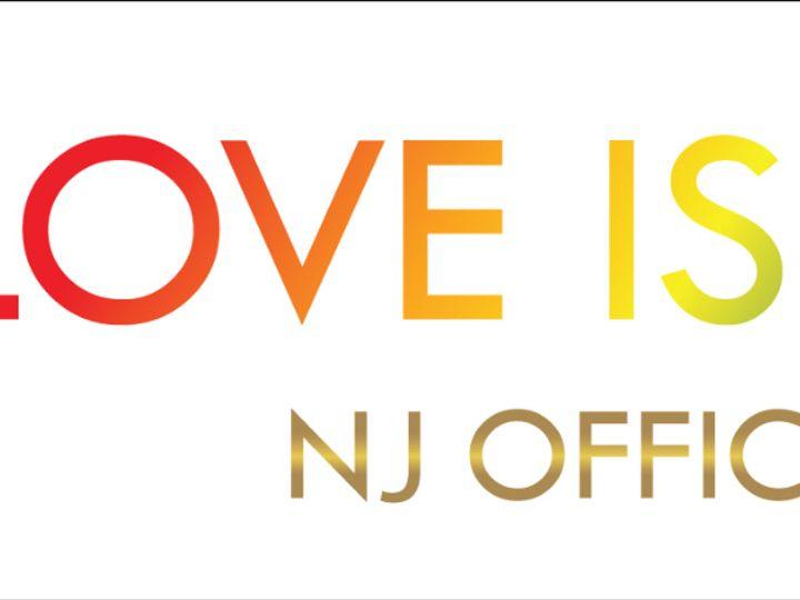 Tmx Love Is Love Nj White Logo 51 1063307 159024737758009 Montclair, NJ wedding officiant
