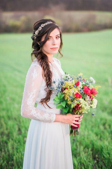 Solemn bride