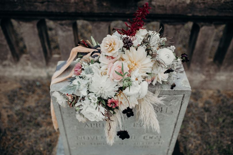 Moody Cemetery Bouquet