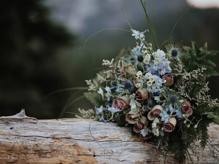 Tmx Blue Thistle On Log 51 984307 1570064183 Olympia, WA wedding florist