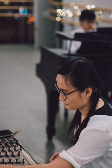 Performing a Chinese work