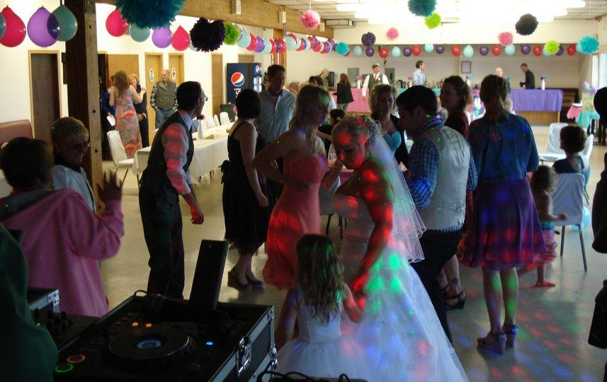 Wedding Reception at Elks Lodge in Homer, AK