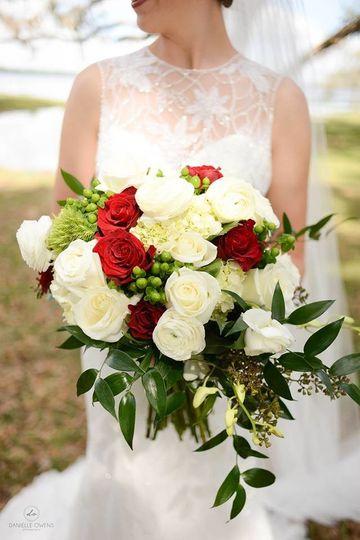 addison long bridal bouquet
