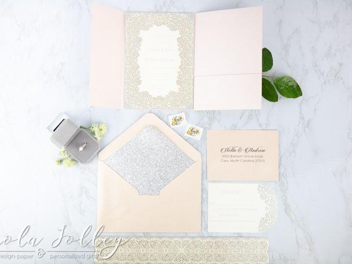 Tmx Logo Paola Jolley Designs Wedding Invitation Orlando 5898 51 1046307 158741633987609 Orlando, FL wedding invitation