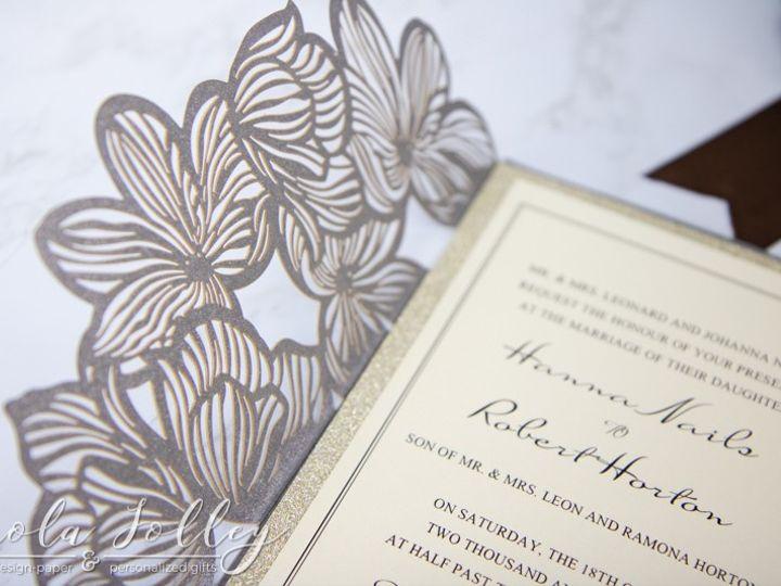 Tmx Logo Paola Jolley Designs Wedding Invitation Orlando 5981 51 1046307 158741637614825 Orlando, FL wedding invitation